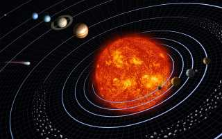 Расстояние до Марса в космическом пространстве
