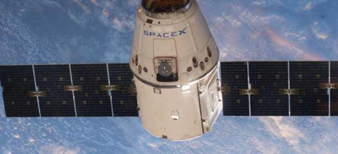 4 мая 2019 компанией SpaceX отправлен корабль Cargo Dragon к МКС