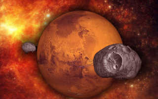 Всё о спутниках Марса — происхождение, открытие, исследования
