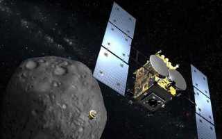 На поверхности астероида побывали роботы