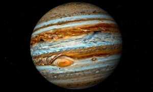 Скорость, путь и время Юпитера