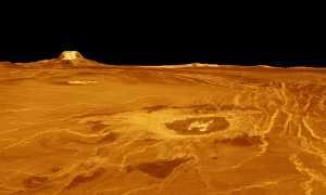 Структурные особенности поверхности Венеры: карта планеты