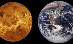 Особенности планеты Венера