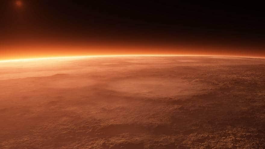 Климат, погода на Марсе
