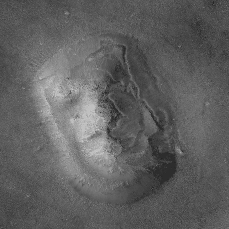Бывшее марсианское лицо